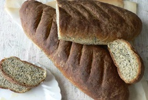 Food: Bread / Sweet yeasted and quick bread, savory quick and yeasted bread, loaves, baguettes, rolls, bread sticks, biscuits, pretzels, bagels, pastry, muffins, donuts, scones, etc