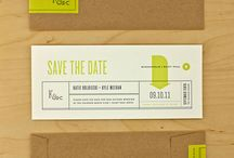 Wedding - Save the date and Invites