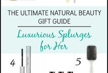 Natural Beauty Product Gift Guides & Buying Guides / All natural, toxin-free, natural beauty products that really work.  Luxurious brands, budget friendly brands, and everything in between.  Product reviews and recommendations.  THE place to find natural beauty products!