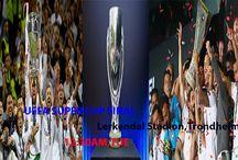 Real Madrid vs Sevilla, Uefa Super Cup final