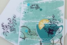 SU A Nice Cuppa / Ideas for cards, tags etc