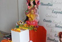 Saraswati pooja celebration