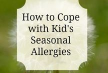 kids health / Here you will find a collection of tips for maintaining kid's health especially through allergy season and flu season!