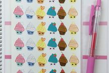 Stickers Galore / Stickers for planning and for pure cuteness / by Suzanne Hibbs