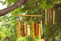 Bambou windshime **