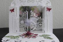 Kaart met poortje