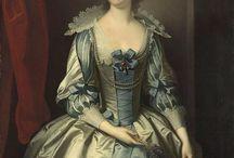 18th century: Van Dyke style