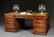Antique Desks / There are many different sorts of desks which were made between about 1680 and 1830 and these are some which we can offer