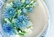 Gelatinas con Flores