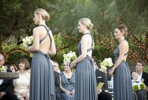 Gray Bridesmaids Dresses / by zusie
