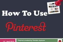 All Things Pinterest / This board will show you how to use Pinterest- the basics but also ideas on how you can use Pinterest for a variety of marketing or business ideas.