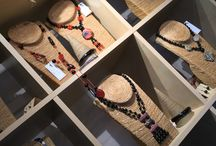 Silk Road Bazaar / jewellery and accessories made by mother and daughter team Jenny Skelton and Maria Francis