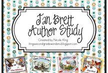 Teaching-- Reading/Writing: Jan Brett / by Doretta Leikam Wright