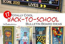 Back to School Ideas / All kinds of ideas for back to school and the beginning of the school year for teachers, parents, and kids!