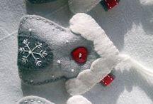 Ornamenti feltro