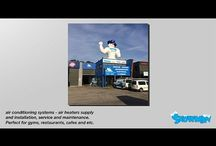 video for branding / video for branding re heating, cooling, refrigeration, plumbing, electitrical