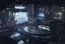 Sci-Fi Landscapes & Environments