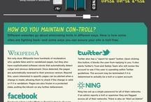 Social Media (Inglés) / Las mejores infografías en inglés de Social Media y Redes Sociales