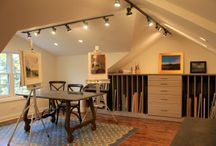 Hobby Rooms / Ideas for converting empty spaces like basements, attics and bedrooms into a dedicated hobby room.
