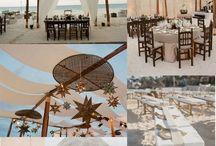Rustic chic beach wedding