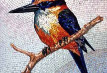 Mosaic..All About  Birds
