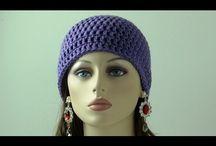 Video crochet beanie/Hat / Tecidos por pessoas de várias países  / by Lilla