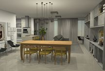 Apartamento Masculino / Este apartamento é de minha autoria, living super masculino e aconchegante.