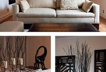 African/safari living room / by Denise Smith