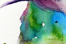 Watercolor Inspiration / art / by Kelly Adams