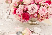 Pink and Fuchsia Wedding Color Inspirations
