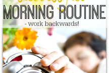 Start the day positive / Morning routine health tips