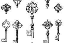 рисунок ключи