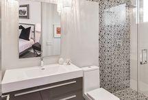 Interiors + bathrooms