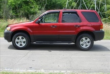 Frod Escape SUV Red For Sale