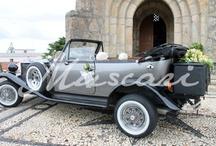 coches boda / Decoración de diferentes coches para bodas.