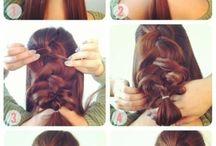 håruppsättning frisyrer