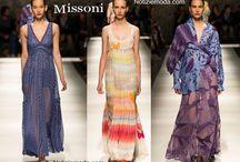 Missoni / Missoni collezione e catalogo primavera estate e autunno inverno abiti abbigliamento accessori scarpe borse sfilata donna.