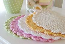 crocheting / by Lesa Weber