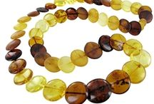 Amber Beads / We love amber & silver. But what really sets our heart on fire is you guessed it, real  amber beads. Baltic amber beads, in alll their glorious shapes, sizes & warm color complexity!