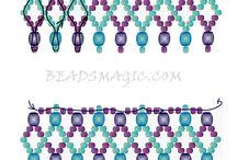 Patterns necklace