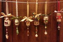 Idee per l'albero di Natale. / i miei tappi di sughero..