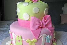 *** baby shower - christening - baptism - first birthday - first communion *** cake ideas