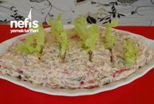 salatalar yoğurtlular