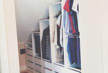 rommet / garderobe