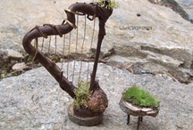 Crafty Miniatures & Garden Fairies / Little things for fairies and tiny gardens and more.