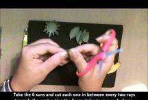 papier bloemen tutorial RH