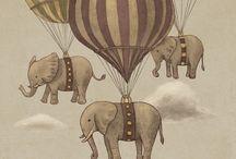 elephants / by Perri Kimbrel