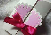 Baptism Girl Card-Decoration