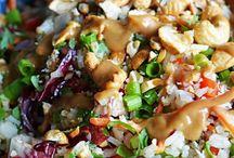 Rijst thais lekker voor buffet