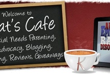 Kat's Cafe  / Make special needs connections and learn about the personal side of special needs parenting, mom blogging, writing reviews and hosting giveaways from Kat, wife & mother of 3 children with special needs, including autism, epilepsy, and the rare disorder, Axenfeld-Rieger Syndrome.   The Cafe is ALWAYS open ... come in and Let's Chat! / by Katrina Moody